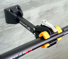 Powerfly Wall Mount Bike Repair Stand - Bicycle Storage Rack Works Bracket Clamp