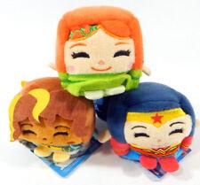 "Lot of (3) DC Super Hero Girls 2"" Kawaii Cubes Wonder Woman Bumblebee Poison Ivy"