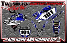 YAMAHA YZF YZ 125/150/250/450  MOTOCROSS MX GRAPHICS STICKERS   ALL YEARS