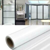 Static Cling PVC Frosted Glass Window Film Sticker For Bedroom Privacy S5F5