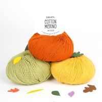 DROPS COTTON MERINO DK KNITTING YARN 50% COTTON 50% EXTRA FINE MERINO 50g