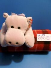 Ty Classic Pillow Pals Tubby the Lavender Hippo 1996(310-1898)