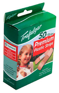Premium Plastic Adhesive Strips by Trafalgar