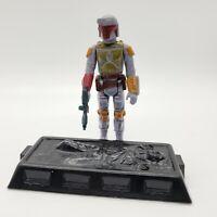 1979 Star Wars BOBA FETT Complete Figure + Han Solo Carbonite (Slave 1) NO REPRO