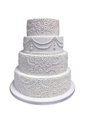 Karen Davies Ornate Pearl Effect Mould Sugarcraft Cake Decorating
