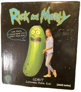 Rick & Morty Giant Inflatable Pickle Rick Huge Pickle Rick 6 FT Pool Adult Swim