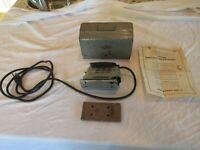 Vintage Craftsman Sears Reobuck Electric Sander 110.27130 with case