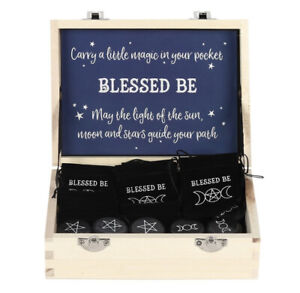 Pagan/Wiccan Blessed Be Lucky Charm In Pouch