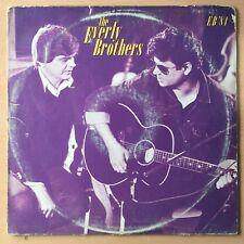 THE EVERLY BROTHERS EB'84 US Press LP