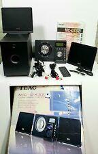 TEAC MC-DX32i AM/FM/CD Player/iPod Dock Hi-Fi Stereo Micro System Remote Box Etc