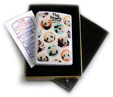 Zippo Beauty PANDA BEAR COLLECTION JAPAN Limited Edition CERAMIC Plate MEGA RARE