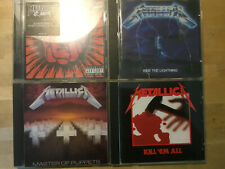 Metallica [4 CD Alben] St.Anger + Kill em All + Master Puppets + Ride Lightning