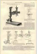 Máquina de perforación 1900 GF Smith Halifax el ferrocarril Nicolas