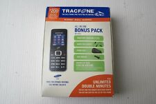Samsung SGH-S125G - Black On Silver (TracFone) All in One No-Contract Bonus Pack
