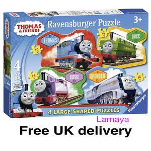 Thomas Tank & Friends Children's Jigsaw Puzzles 4 Shaped in 1 Box Ravensburger