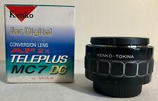 Kenko Tokina Teleplus Pro 300 MC7 DG TeleConverter 2X Lens for Nikon AF   HF0497