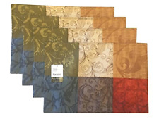 Mainstays Tuscany Kitchen Collection - Fabric Placemats Set of 4