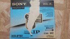 Sony Handycam Dcr-Ip7Bt Micro Mv Camcorder and Camera