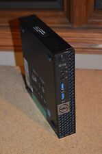 Dell Wyse Optiplex Micro 7040 i7-6700TE 500GB Quad HDMI Mini HTPC Media Center