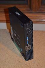 Dell Wyse Optiplex Micro 7040 Core i7-6700TE Quad 8GB RAM 128GB SSD WIn 10 HDMI