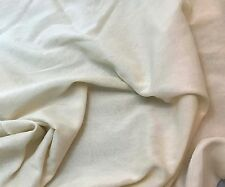 Silk/Cotton Voile Batiste Fabric Hand Dyed ECRU 1/3 yd remnant