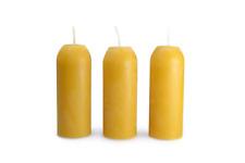 Uco Cera D'api Candelette Confezione da 3 per Candela Lanterne Campeggio