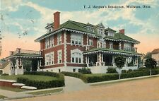 A View Of T. J. Morgan's Residence, Wellston, Ohio OH 1915