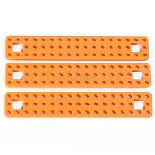 1pcs 153*27mm Orange Plastic Connect Strip Fixed Frame For Robotic Car Model Toy