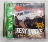 Test Drive Off-Road (Sony PlayStation 1, 1997) - PS1 Green label Complete works