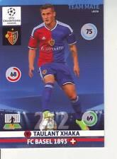PANINI FOOT TRADING CARD CHAMPIONS LEAGUE TAULANT XHAKA FC BASEL 1893