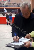 Foto Autografata Autografo Remo Girone Signed - Asta di beneficenza Charity