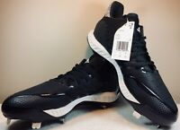 New ADIDAS ICON BOUNCE METAL Mens Baseball Cleats Shoes Black Size 11.5 CG5241
