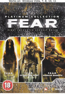 F.E.A.R. First Encounter Assault Recon Complete Platinum Collection PC Game FEAR
