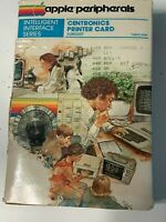 VINTAGE APPLE IIe Centronics Printer Card 1979 Box Only