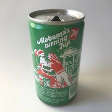 "Vintage 1979 7up ""America's Turning 7 up"" Collectible Soda Can - Alabama"