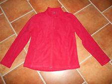 Fleecejacke Damen Crane 44/46 rot NEU kuschelig Taschen sehr schönes rot