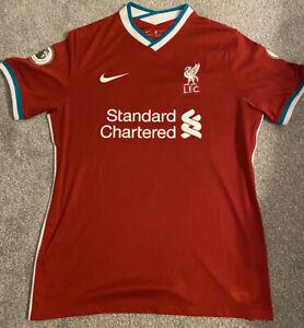Liverpool 2020/21 Home Shirt. Mens. Large.