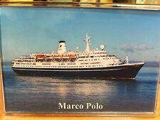 CMV MARCO POLO Large Fridge Magnet Cruise Ship Avonmouth arrival