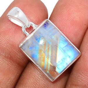 Moonstone 925 Sterling Silver Pendant Jewelry BP88958