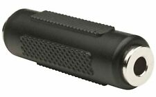 3.5mm Stereo Jack Coupler Joiner Female to Female Adaptor Connector UK
