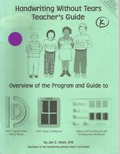 Handwriting Without Tears Teacher's Guide by Jan Olsen ISBN# 1891627074