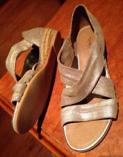 Jo Mercer NEW 37 Or 6 Genuine Leather Flats Sandals Shoes Heels