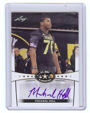 MICHAEL HILL - Ohio State OSU - 2013 Leaf Army Certified AUTOGRAPH RC