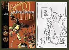 EO BD Dedicace GLAUDEL ARLESTON 1999 Maitres cartographes 5 Le cri du Plouillon