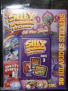 EXCLUSIVE SILLY SUPERMARKET SERIES 3 BLISTER PK & VARIATIONS LIKE WACKY PACKAGES
