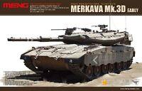 Meng TS-001 Model 1/35 Israel Main Battle Tank Merkava Mk.3D Early Armour Hot