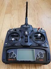 RC Aircraft Devo 7 Transmitter Walkera Devention Devo 7 Radio Transmitter S143