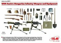 ICM 1/35 WWI Austro-Hungarian Infantry Weapon & Equipment # 35671