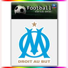 "Olympique de Marseille UEFA Die Cut Vinyl Sticker Car Bumper Window 4""x3.3"""