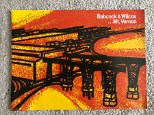 Babcock & Wilcox Mount Vernon Indiana - vintage site brochure